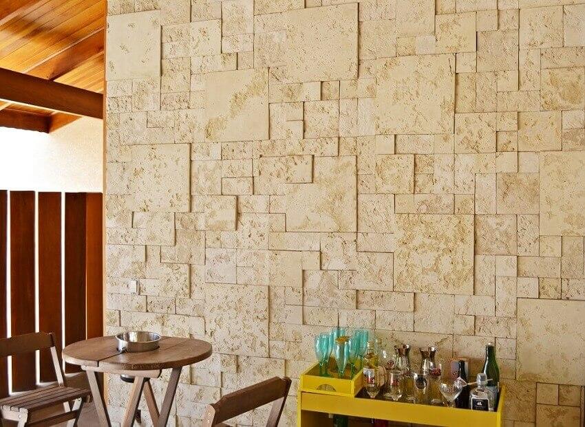 revestimento 3d para parede de área externa - coleção admirato