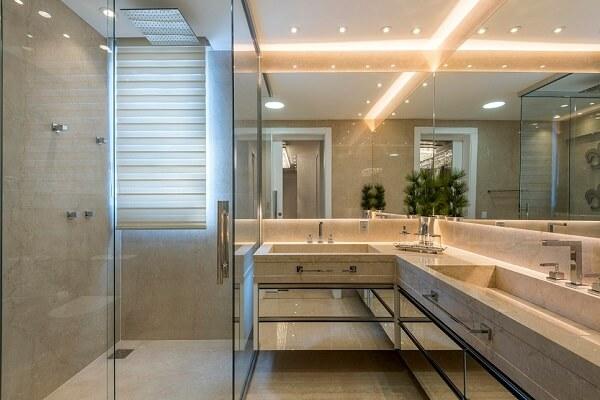 teto de gesso banheiro
