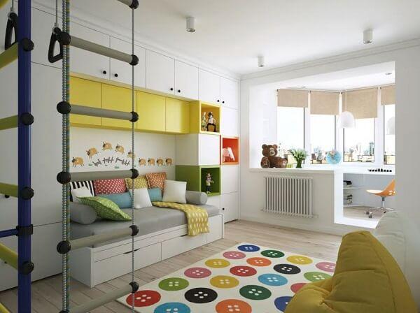 Algumas dicas de como organizar o quarto, facilita a limpeza do ambiente