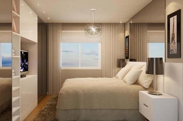 Como organizar o quarto de casal pode otimizar o espaço