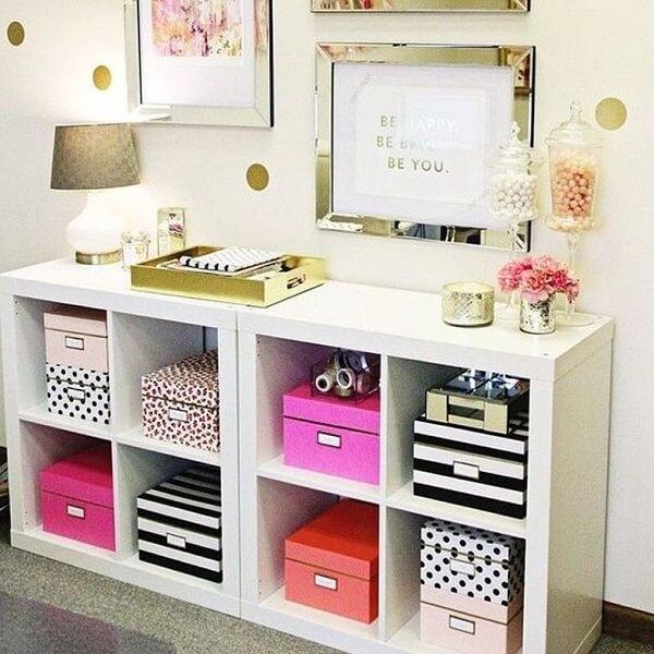 Como organizar o quarto de forma charmosa
