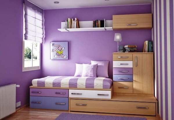 Como organizar o quarto e otimizar o espaço