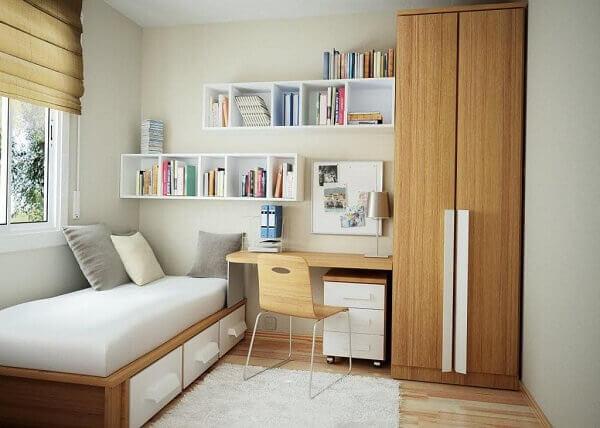 Como organizar o quarto pequeno