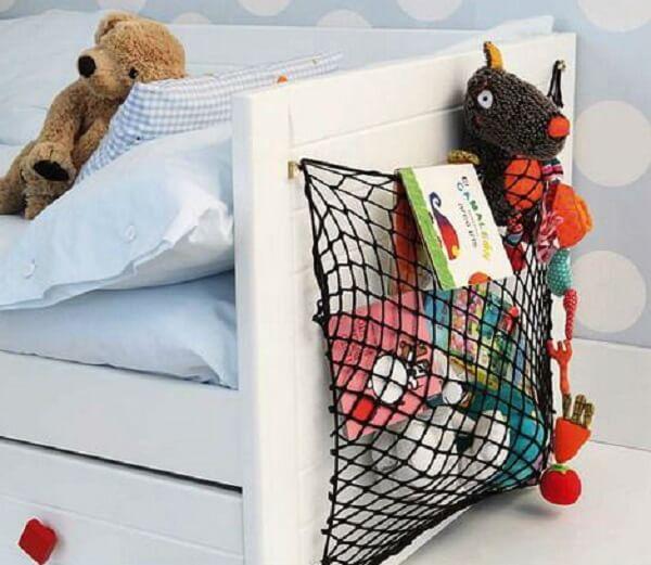 Como organizar quarto de criança com redinha
