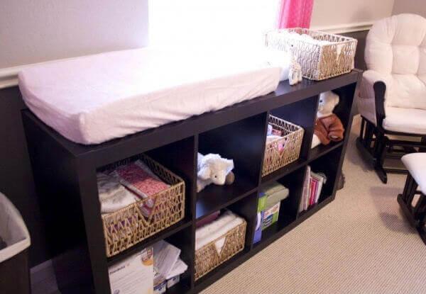 Como organizar quarto infantil com nichos