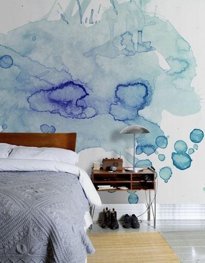 Dicas para pintar a parede de forma criativa com aquarela