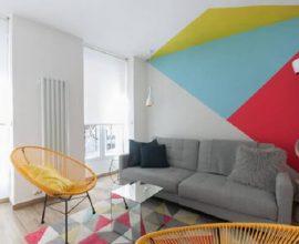Dicas para pintar a parede de forma criativa no ambiente