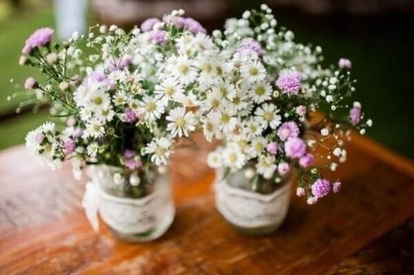 Flores do campo Chuvas de prata