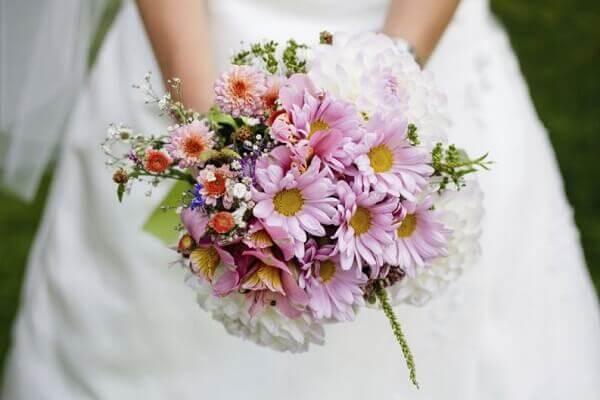 Flores do campo buquê claro