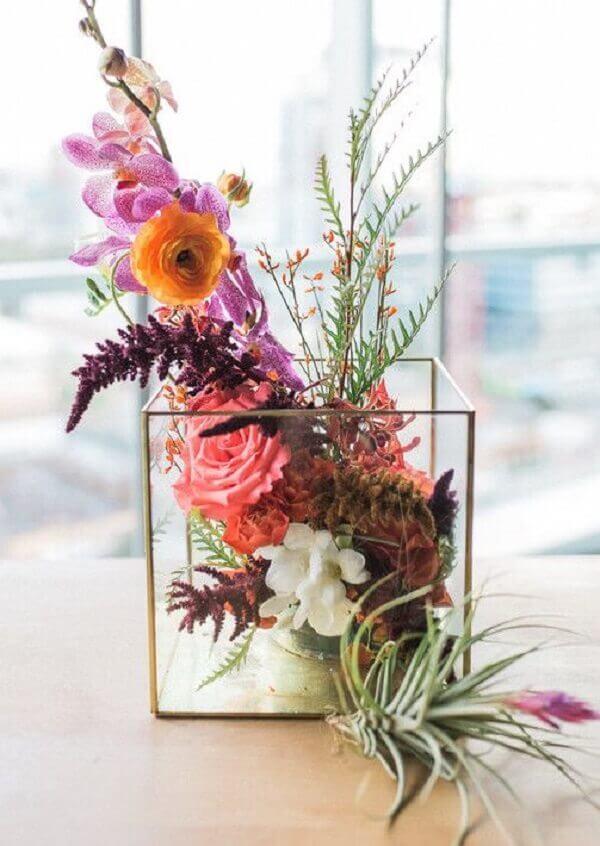Flores do campo para decoração de apartamento