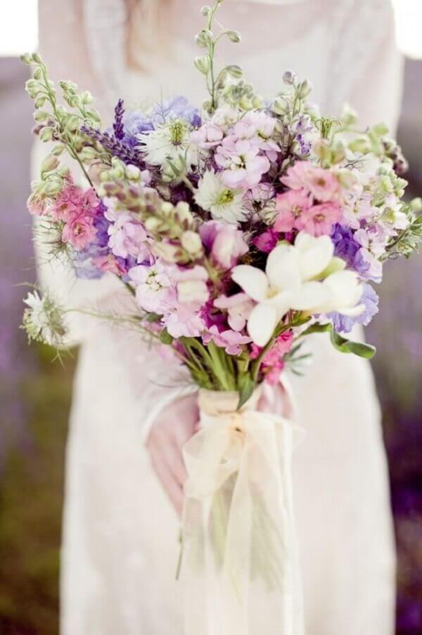 Flores do campo para noivas