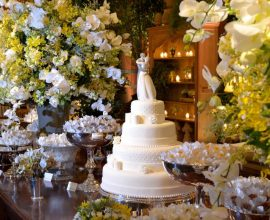 O clássico verde e branco na decoração de casamento