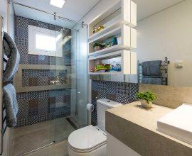 O revestimento para banheiro transforma a decoração do ambiente