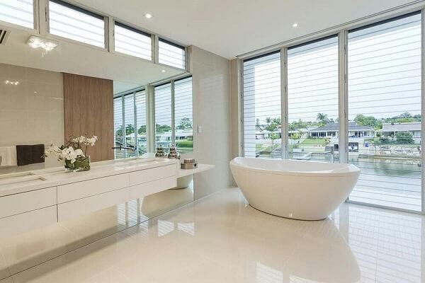 Porcelanato líquido em banheiro