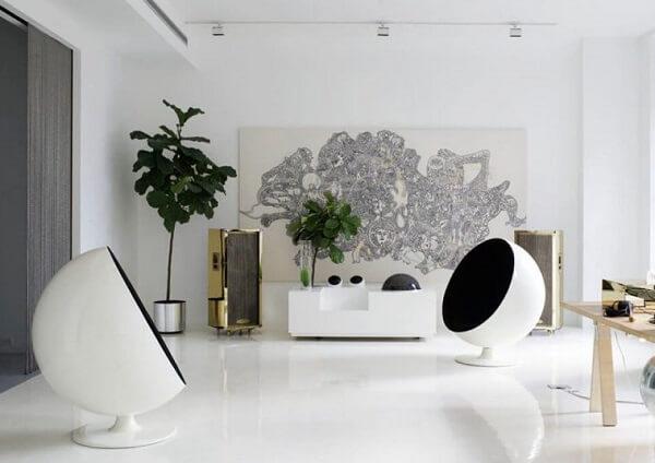 Porcelanato líquido em espaço corporativo