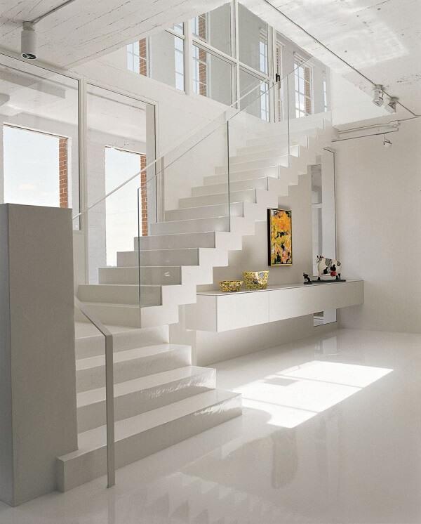 Porcelanato líquido escada