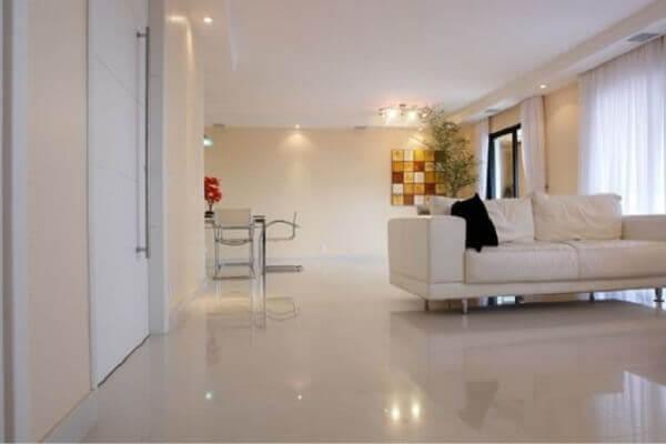 Porcelanato líquido para sala de estar