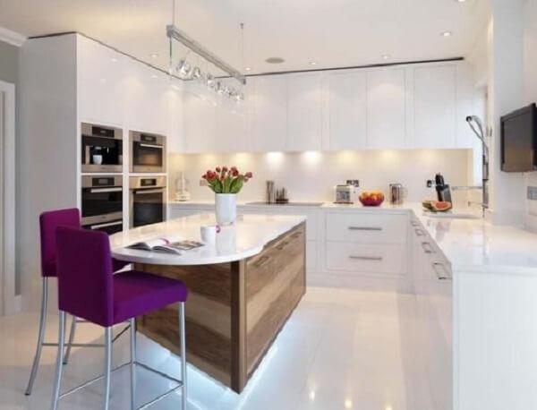 Porcelanato líquido na cozinha
