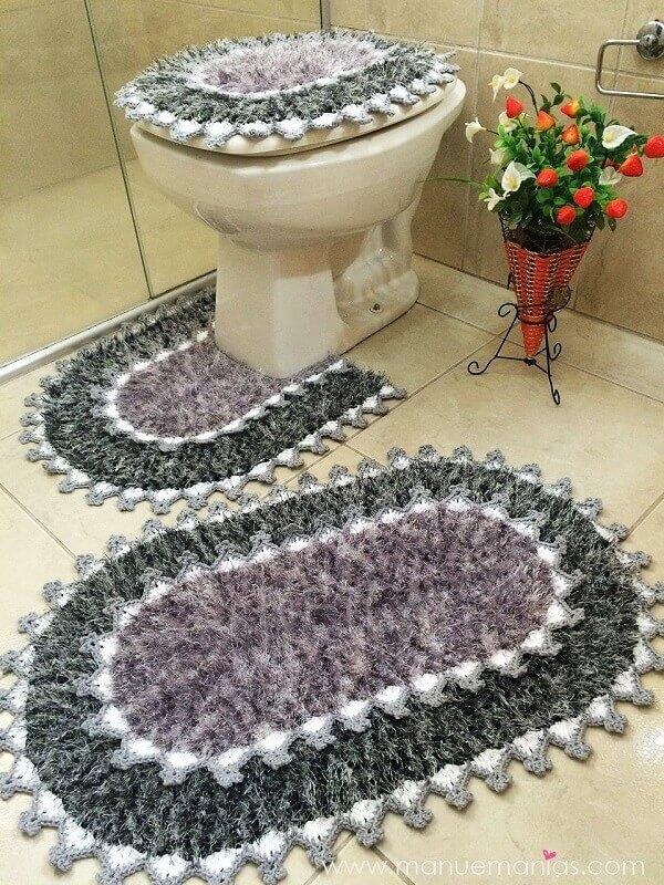 Tapete para banheiro conjuntos