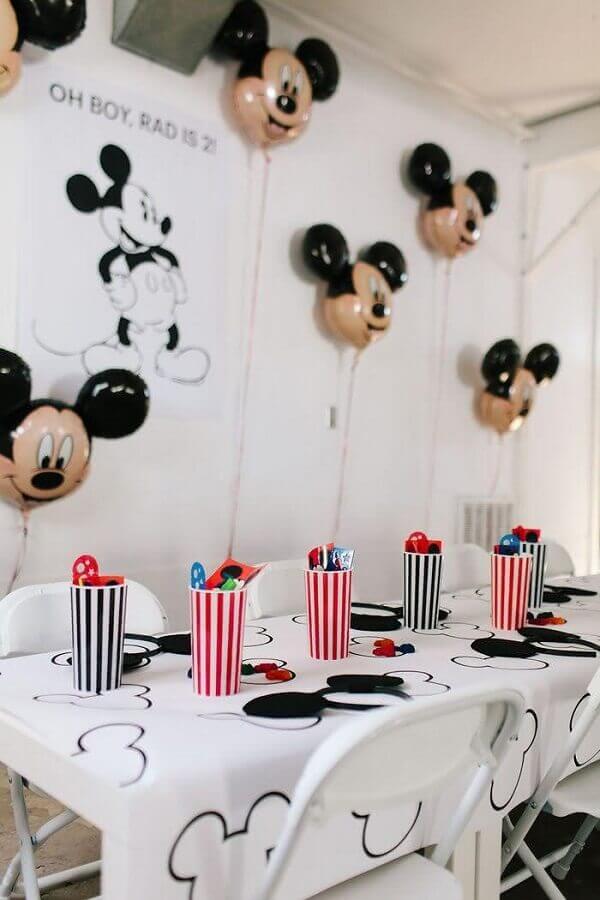 balões personalizados para decoração festa infantil mickey simples 321achei