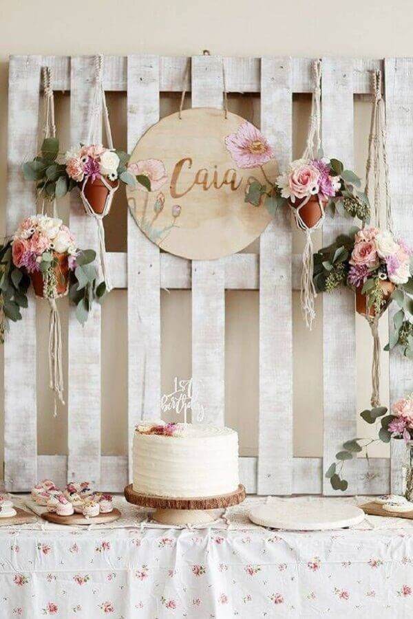 Rustic Birthday Decorating Photo Pinterest