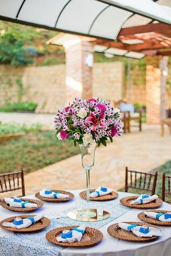 decoração de noivado simples ao ar livre Foto Home Fashion Trend