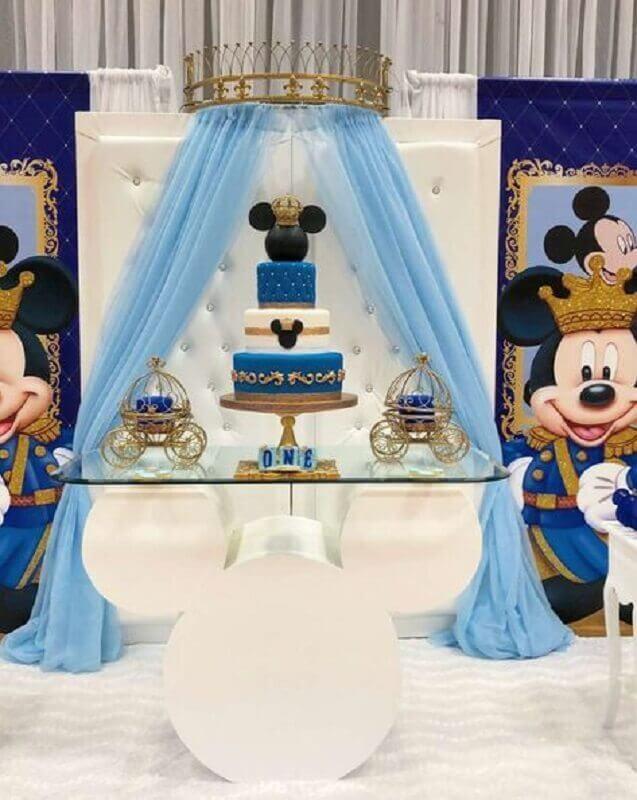 decoração festa do mickey príncipe Foto Catch My Party