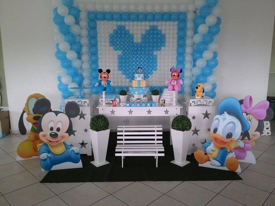 decoração mickey baby e sua turma Foto HB Festas e Lembranças