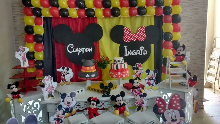decoração mickey e minnie Foto Decor da Lu