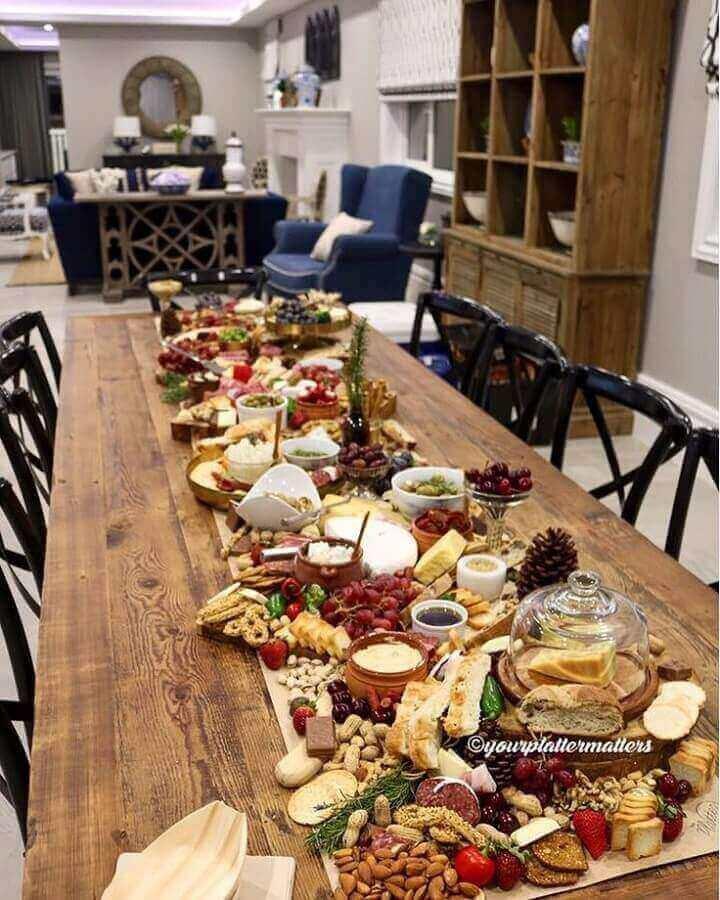 decoração para mesa de frios e frutas grande Foto Air Freshener