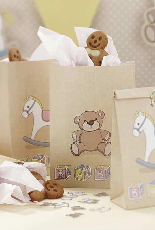 delicadas embalagens de lembrancinhas para chá de bebê Foto Pinterest