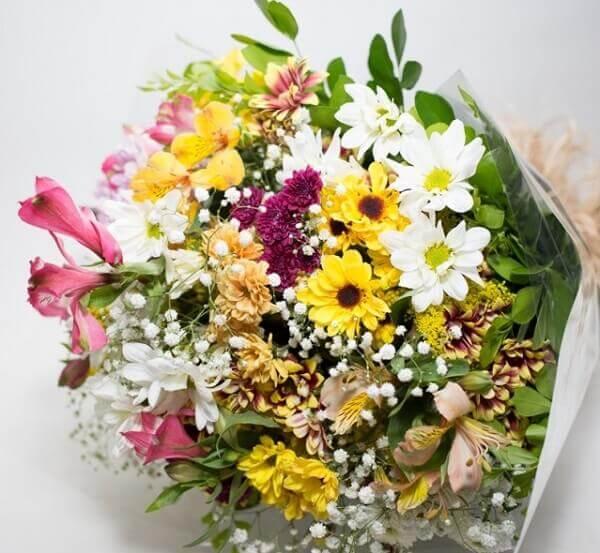 flores do campo buquê