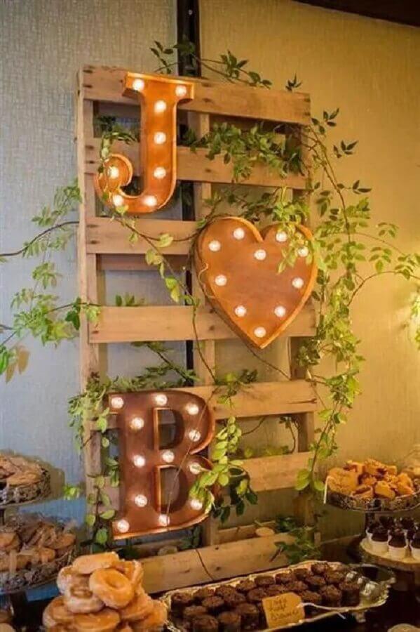 ideias para decoração de noivado simples Foto Artesanato Passo a Passo