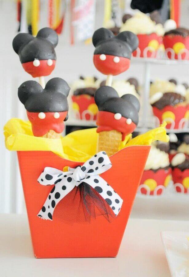 lembrancinhas para decoração de aniversário do mickey Foto Pinterest