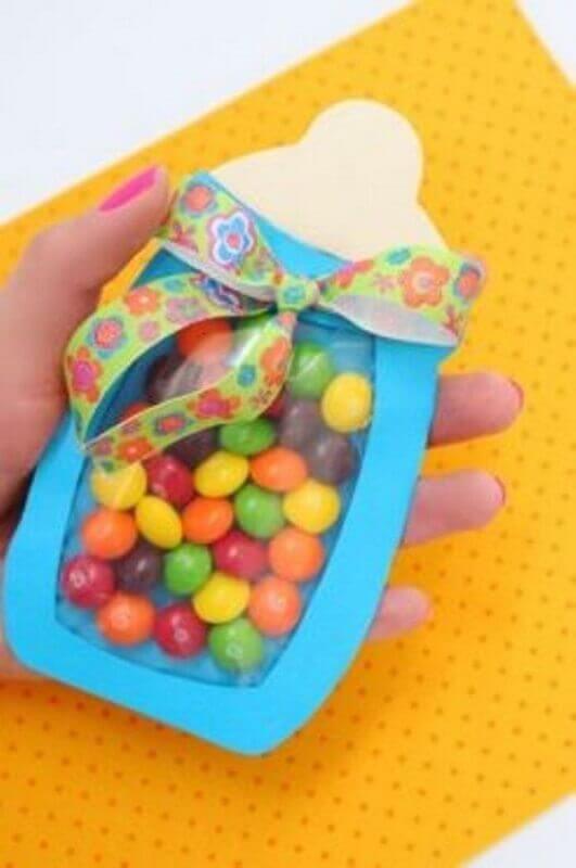 lembrancinhas simples para chá de bebê Foto Casa Decorar
