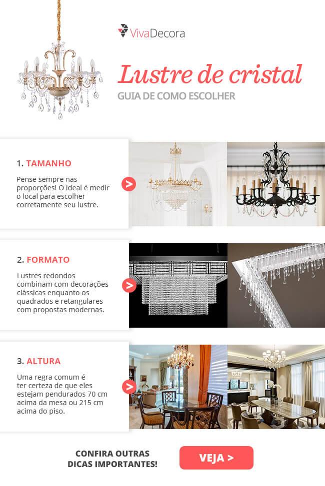 Infográfico - Lustre de Cristal