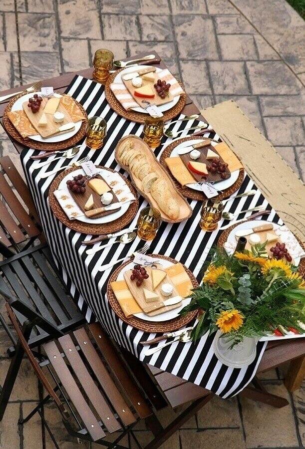 mesa de frios para festa Foto Pinterest
