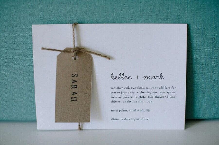 modelo de convite de noivado simples Foto Polka Dot Bride