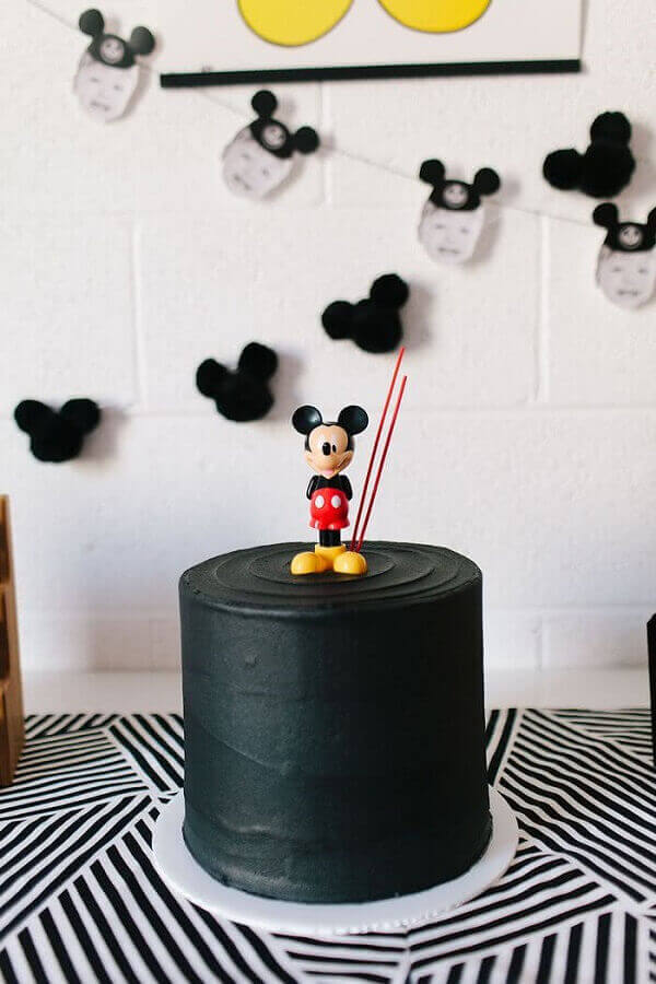 modelo simples de bolo decorado do mickey Foto Air Freshener