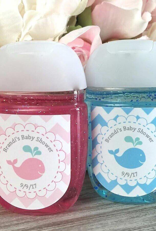 potinho personalizado para lembrancinha de chá de bebê Foto Melinterest Brasil