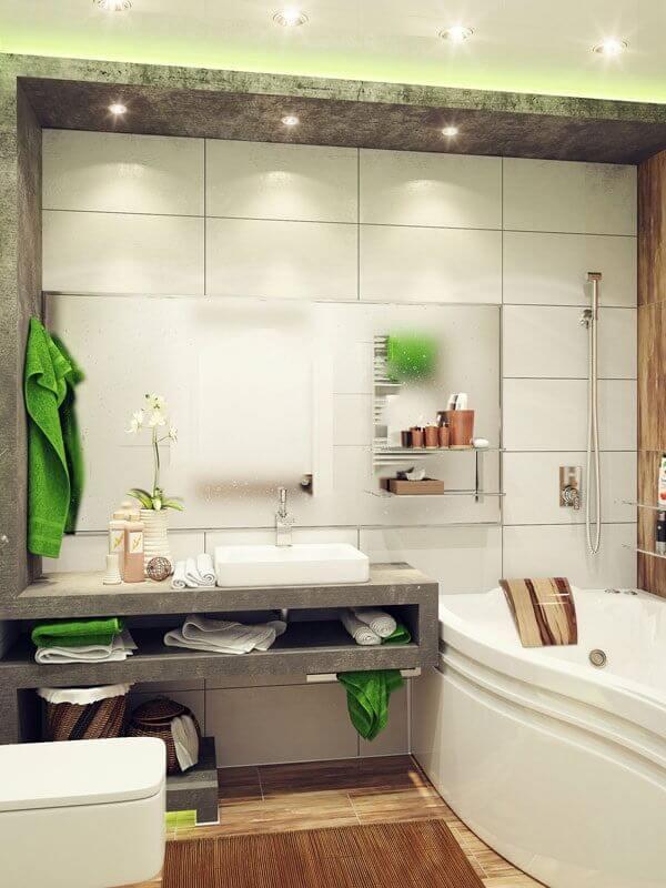 tapete para banheiro diferenciado