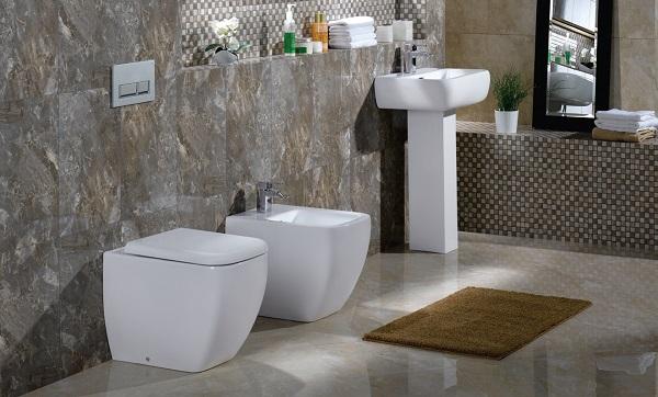 tapete para banheiro simples pequeno