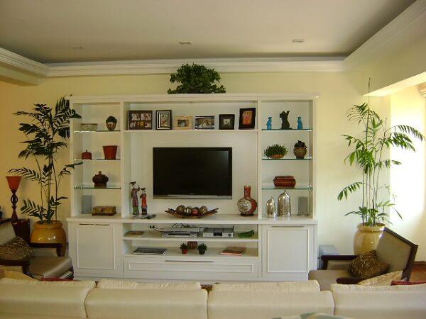 As plantas para sala acompanham o estilo da decoração
