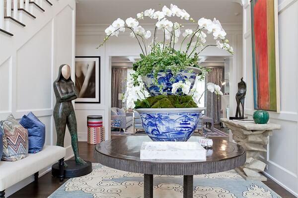 As plantas para sala criam um ambiente sofisticado