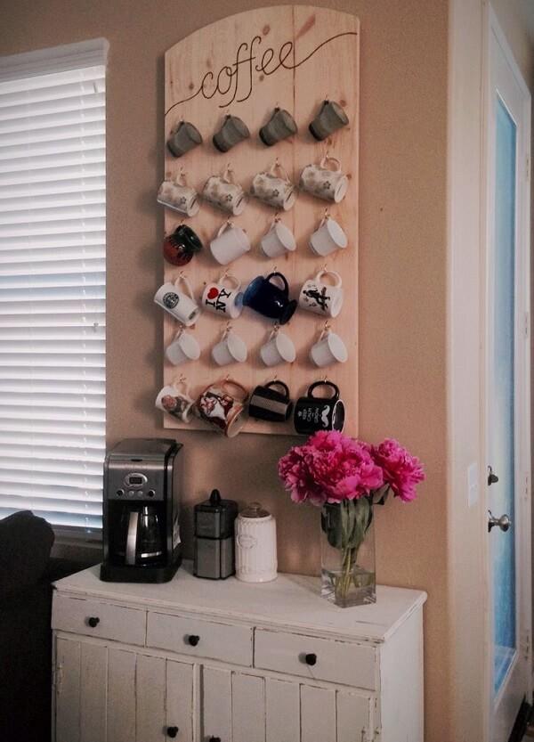 Decoração de casa simples e barata para o cantinho do café