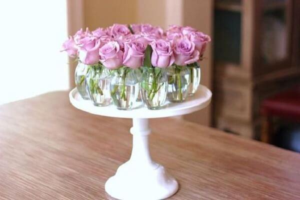 Decoração dia das mães com rosas
