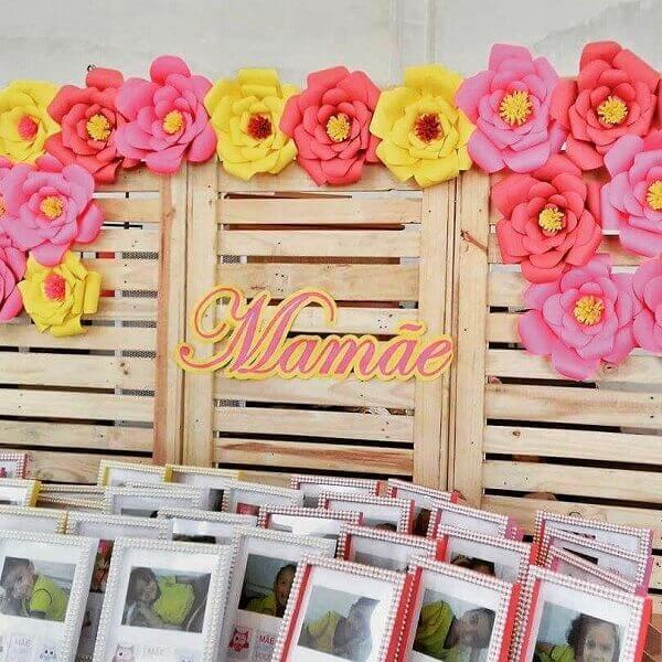 Decoraç u00e3o Dia das M u00e3es +67 Lindas Inspirações para Celebrar -> Decoração De Festa Para O Dia Das Mães Na Escola