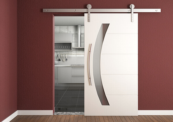 Modelos de portas com roldanas proporcionam conforto