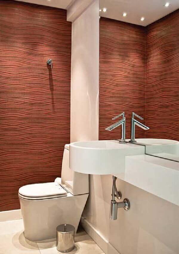 Papel de para lavabo pequeno