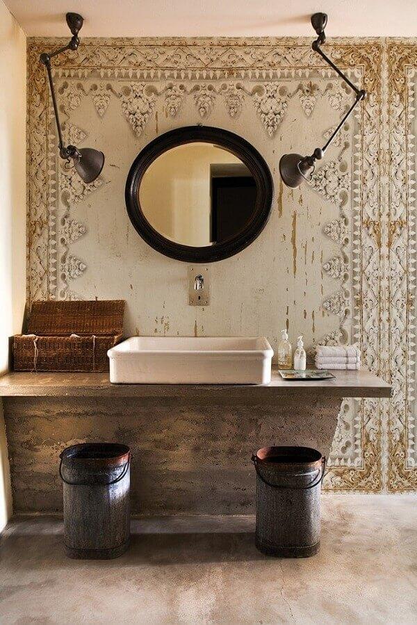 Papel de parede para lavabo decora com estilo e beleza